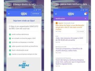 Qipu é um aplicativo de gestão financeira e fiscal para quem é MEI, Microempreendedor individual. Gratuito, está disponível para Android, iOS e Windows Phone