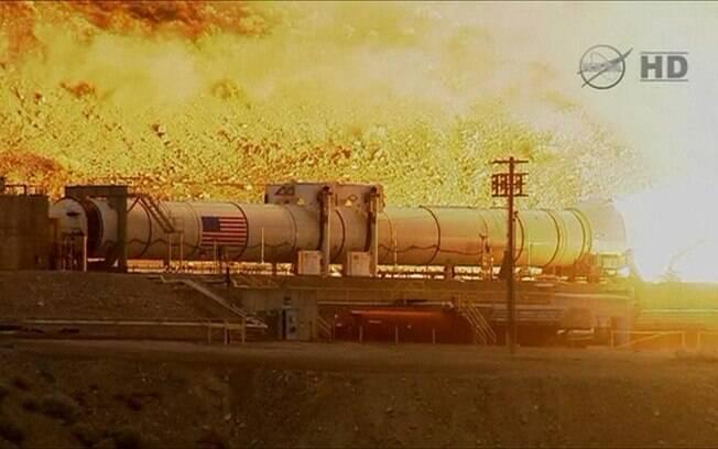 Nasa testa foguete mais poderoso da história para levar missão a Marte