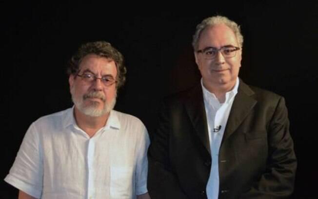 Jorge Furtado e Amir Labaki em Cineastas do Real