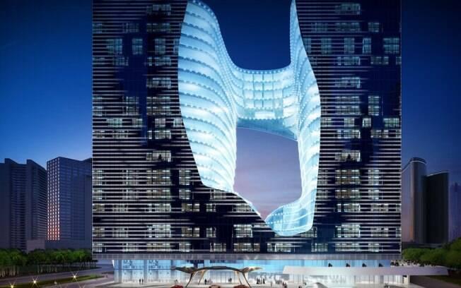 O ME Dubai fica no impressionante Edifício Opus%2C com 95 metros de altura