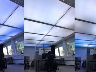 Projeto recria o ceu e as condições naturais de luz