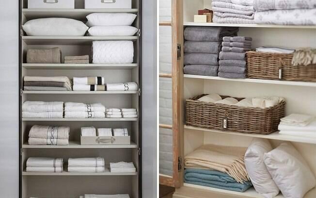 Usado praticamente todos os dias, o roupeiro precisa estar sempre bastante organizado
