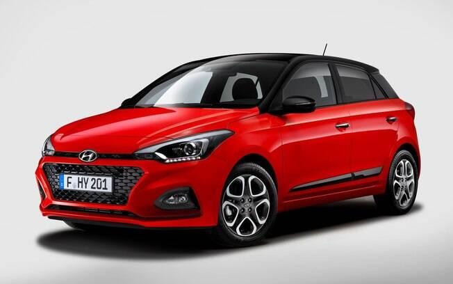 Novo i20 tem traços que podem ser adotados na nova geração do Hyundai HB20, que  deve chegar no fim de 2019