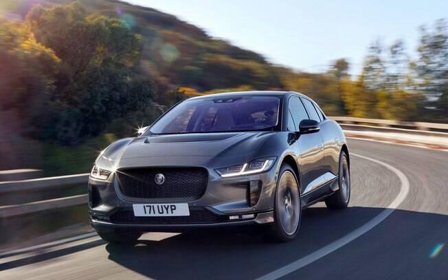 Jaguar I-Pace é o único carro elétrico do Grupo Jaguar Land Rover disponível atualmente no mercado global
