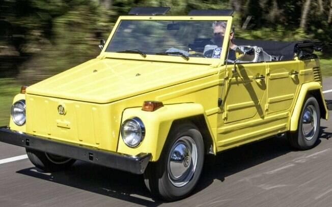 """O chamado """"The Thing"""", um utilitário conversível para off-road, fez sucesso nas décadas 1960 a 1980 em vários países"""