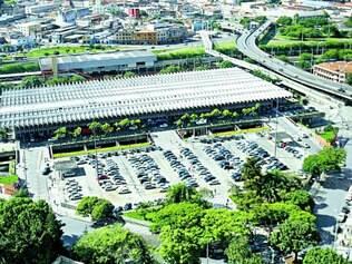 Nova sede. Complexo que concentrará estrutura da prefeitura de BH será erguido na área onde hoje fica o estacionamento da rodoviária