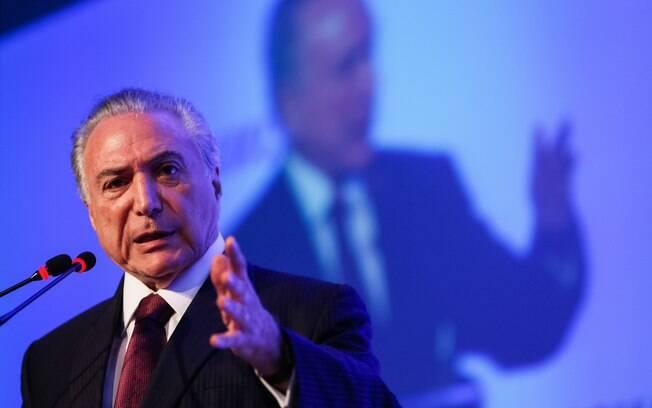 Michel Temer disse que Trump concorda em levar adiante uma agenda de investimentos dos EUA no Brasil