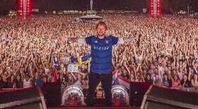 Ed Sheeran fecha acordo com seu time