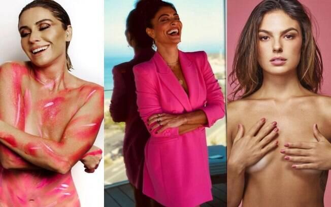 As famosas que já aderiram ao outubro rosa em 2018
