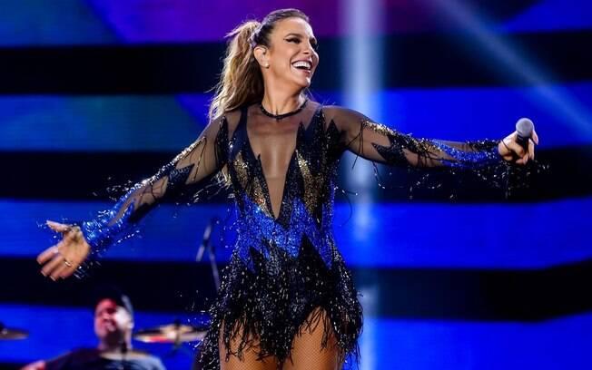 Antes do sucesso meteórico como cantora, Ivete Sangalo brilhou nas passarelas brasileiras