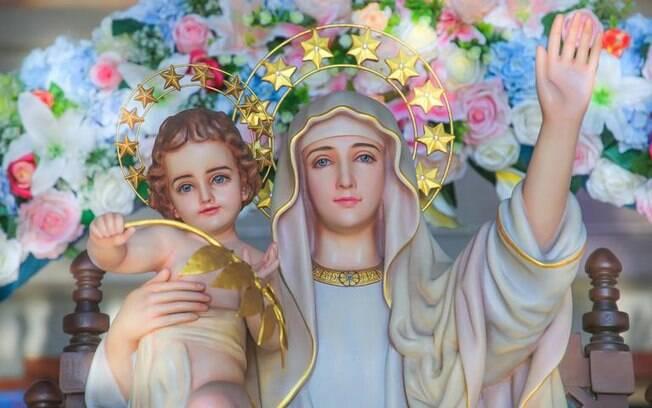 Descubra qual Virgem Maria irá abençoar o seu dia