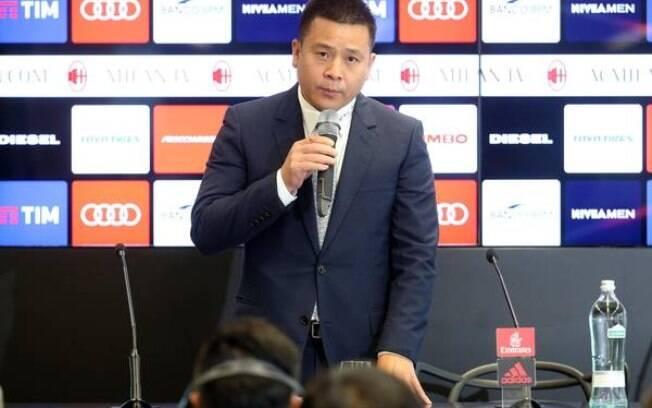 Li Yonghong não é mais o dono do Milan