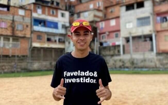 Em suas redes sociais, Murilo Duarte tenta derrubar o mito de que apenas ricos podem fazer investimentos