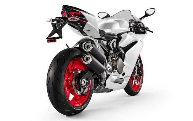 O novo motor da Ducati Panigale 959 é o Superquadro 955cc de 157 cv a 10.500 rpm e 10,9 kgfm a 9.000 rpm.