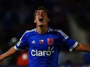 Melhor momento do jogador foi defendendo a Universidad de Chile