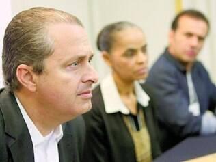 Titular. Até 13 de agosto, Eduardo Campos era o candidato do PSB à Presidência e não conseguia capitalizar os votos de Marina, sua vice