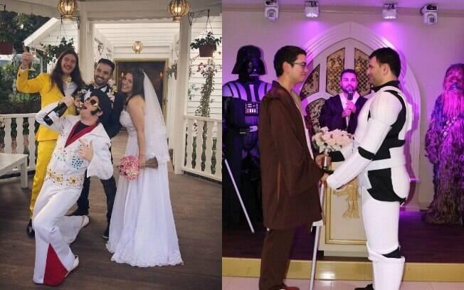 Casamento temático é uma nova atração em Gramado que está atraindo diversos turistas que sonham com algo diferente