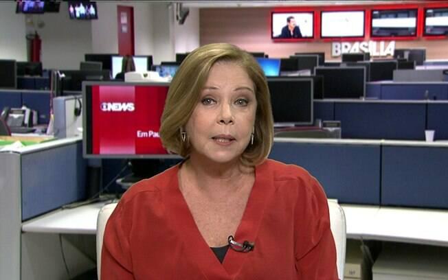 Eliane Cantanhêde, jornalista da GloboNews