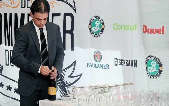 Alexander Moraes (traje também era avaliado na última etapa) durante o campeonato