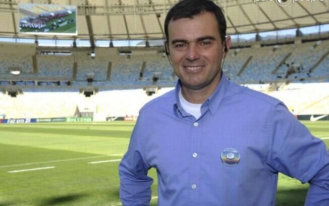 Repórter Tino Marcos pediu afastamento temporário da TV Globo
