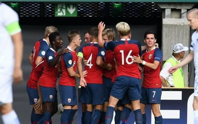 A seleção da Noruega é a terceira no Grupo C da Copa do Mundo Sub-20