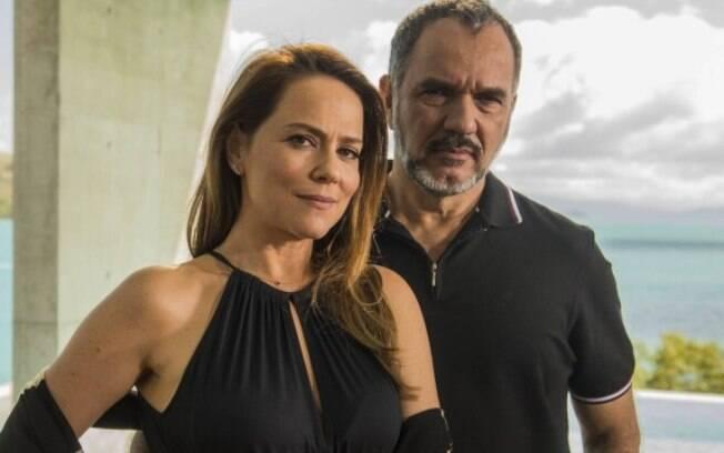 Dupla Vivianne Pasmanter e Humberto Martins já contracenaram em quatro novelas ao longo dos anos