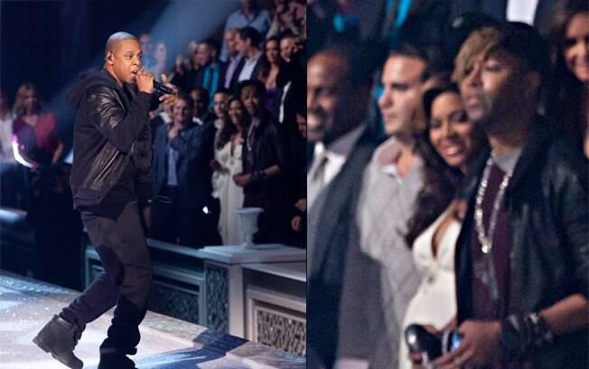 Beyoncé acompanhou o show do marido da primeira fila