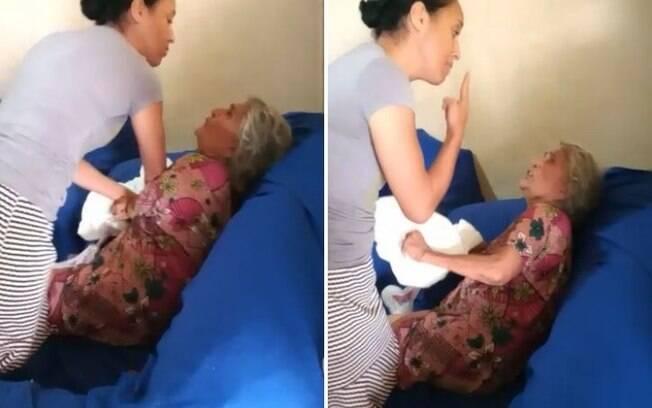 Resultado de imagem para Cantora Gospel Lucimara Pires bate na mãe de 70 anos de idade