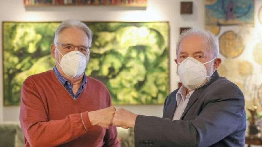 Fernando Henrique (PSDB) e Lula da Silva (PT)
