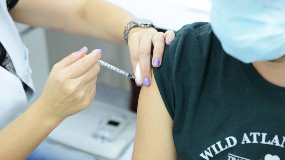Registro da vacinação contra a Covid-19