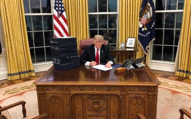 Em 2017, Trump já havia anunciado que tinha intenções de vetar presença de transgêneros nas Forças Armadas dos EUA