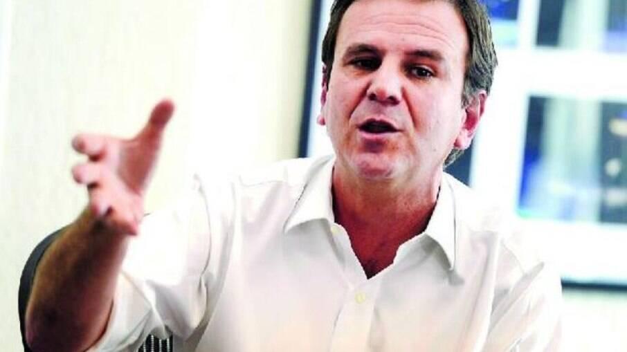 Prefeito do Rio Eduardo Paes (DEM)