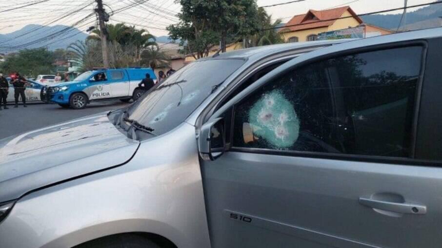 PM estava em carro blindado quando foi vítima de emboscada