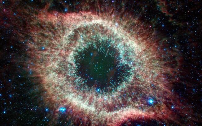 Nebulosa de Hélix: um dos espetáculos astronômicos registrados pela Nasa