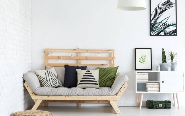 As formas geométricas ficam bem em todos os cômodos da casa, mas é importante ter cuidado para não prejudicar o estilo