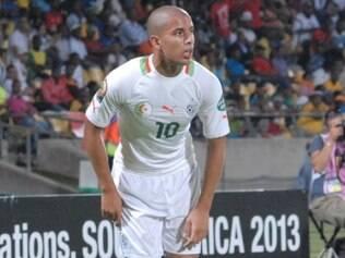Principal jogador da Argélia, Feghouli estará na Copa do Mundo