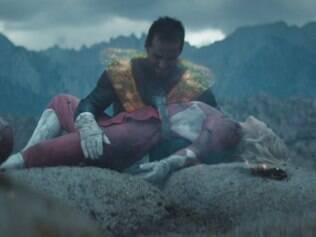 Impróprio para crianças, filme de 14 minutos sobre 'Power Rangers' fotografia padrão Hollywood