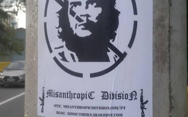 Assinatura de grupo neonazista ucraniano é investigada; delegado pensa ser modo de