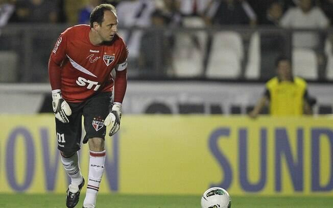 Rogério Ceni brilhou com o São Paulo contra o vasco, em São Januário. Ele faz 40 anos em janeiro