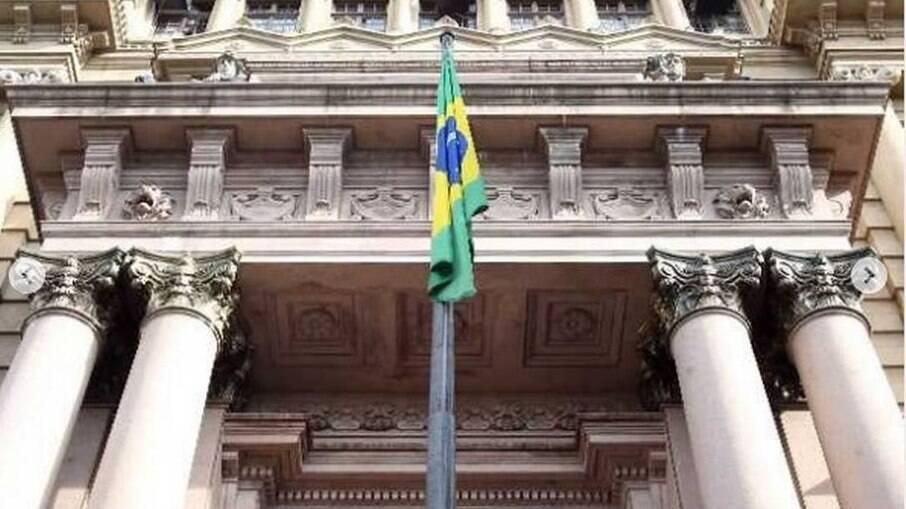 O prédio do Tribunal de Justiça de São Paulo
