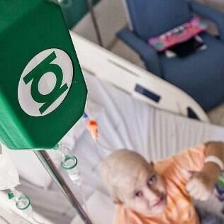 Criança em tratamento com a superfórmula