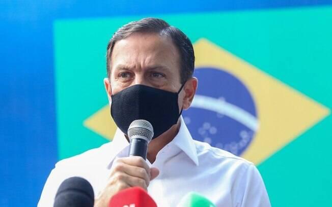 AO VIVO: Doria fala sobre a covid-19 e a fase emergencial no Estado