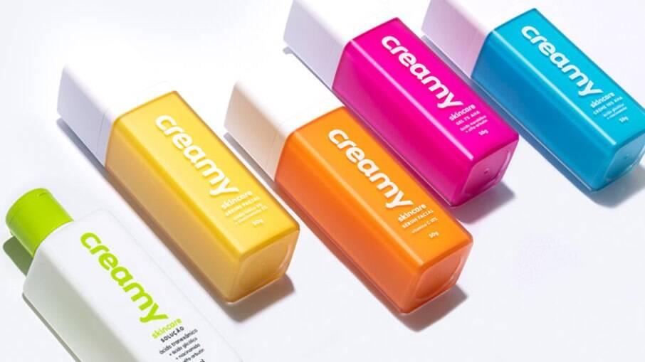 Comentadíssima nos grupos sobre skincare, a Creamy atende às necessidades de todos os tipos de pele
