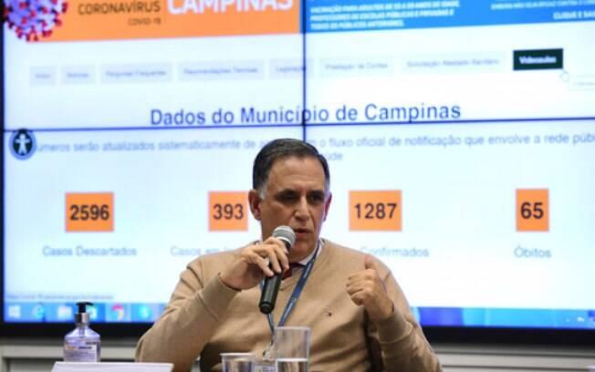 Marcos Pimenta, presidente da Rede Mário Gatti, falou sobre a contratação de novos leitos de UTI.