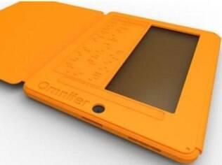 Case para iPad facilita o uso pra deficientes visuais