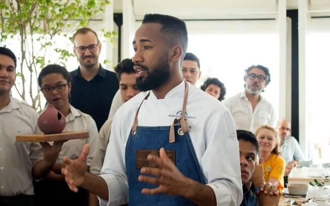 João Diamante despertou curiosidade até do lendário Chef Alain Ducasse