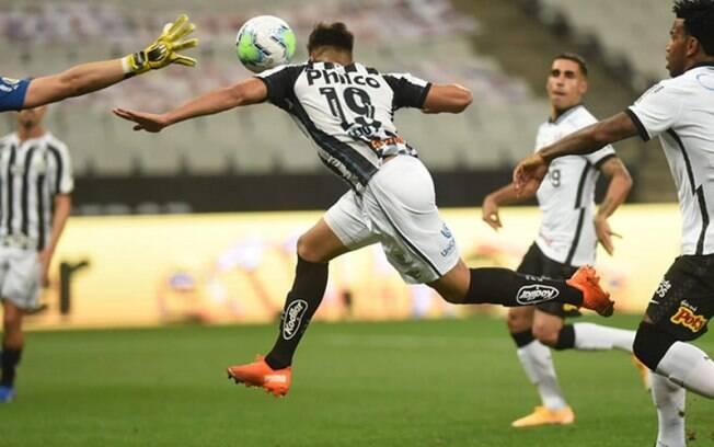 Santos venceu os últimos seis jogos contra o Corinthians na Vila Belmiro
