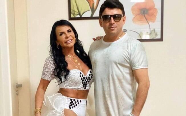 Gretchen e Esdras de Souza treinaram juntos