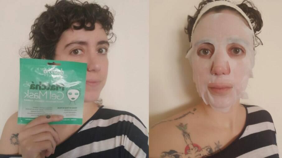 Máscara Gel Mask da Desinchá