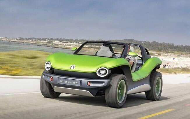 """A VW registrou o nome """"e-Thing"""" para um modelo baseado no conceito e-Buggy elétrico"""